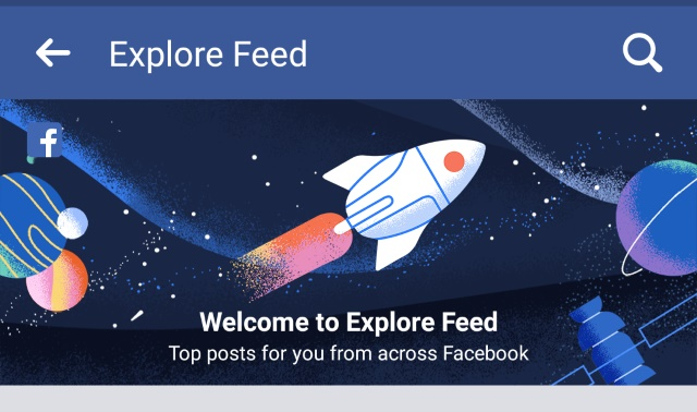 facebook explore news feed marketing implications