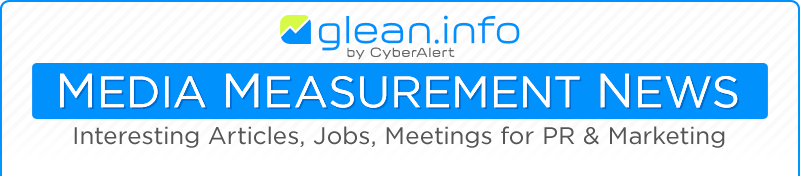 Glean.info Media Measurement Newsletter