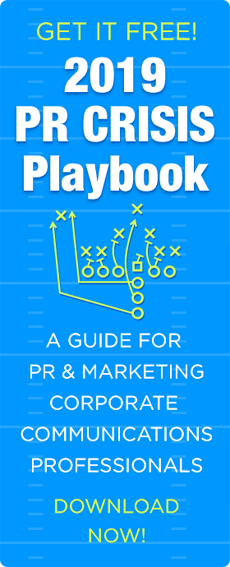 The 2019 PR Crisis Playbook