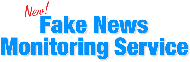 fake news monitoring service